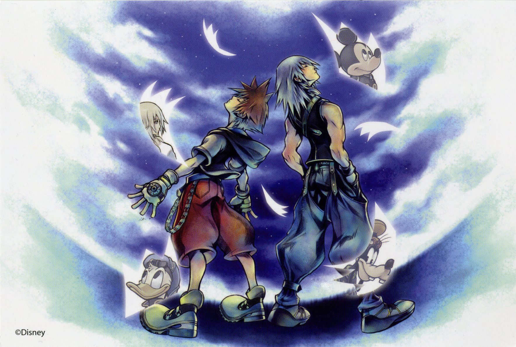 Kingdom Hearts Re Chain Of Memories Chain Of Memories Kingdom