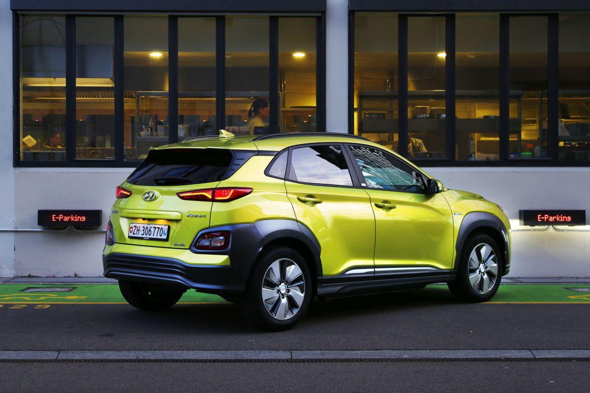Der AllNew Hyundai KONA electric gewinnt die Wahl zum