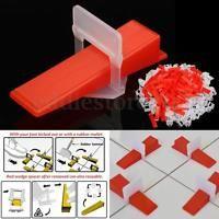 600 Tile Leveling System 400 Clips 200 Wedges Tile Leveler Spacers Lippage Tile Leveling System Plastic Tile Flooring Tools