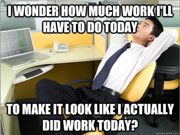 Fun Office Meme : Actual work to do office thoughts meme quot i wonder how