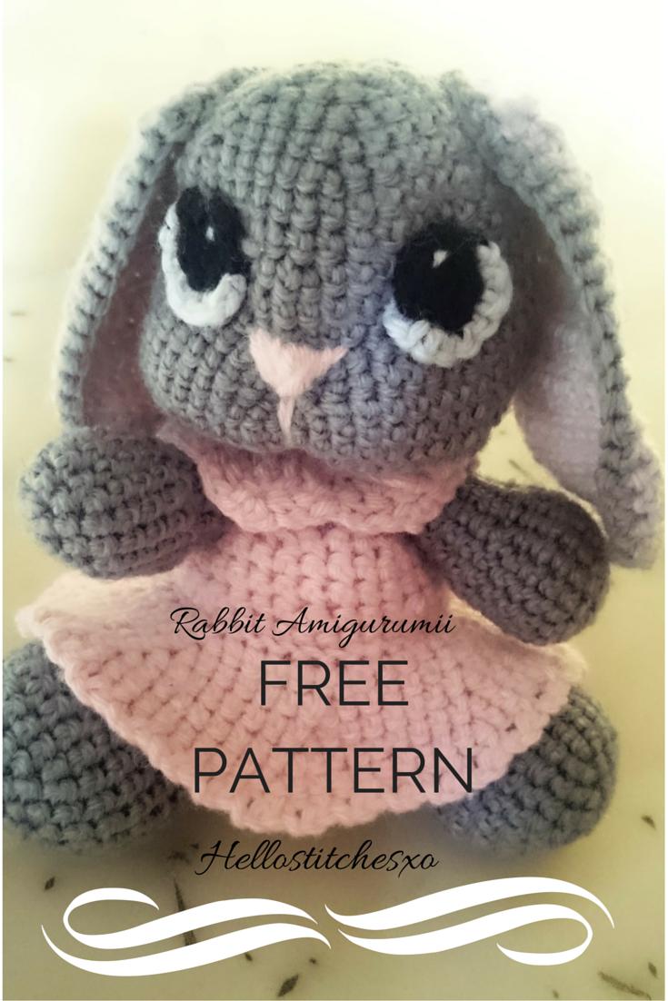 Amigurumi rabbit crochet hooks peeps and easter amigurumi rabbit crochet rabbitcrochet hookscrochet patternfree bankloansurffo Gallery