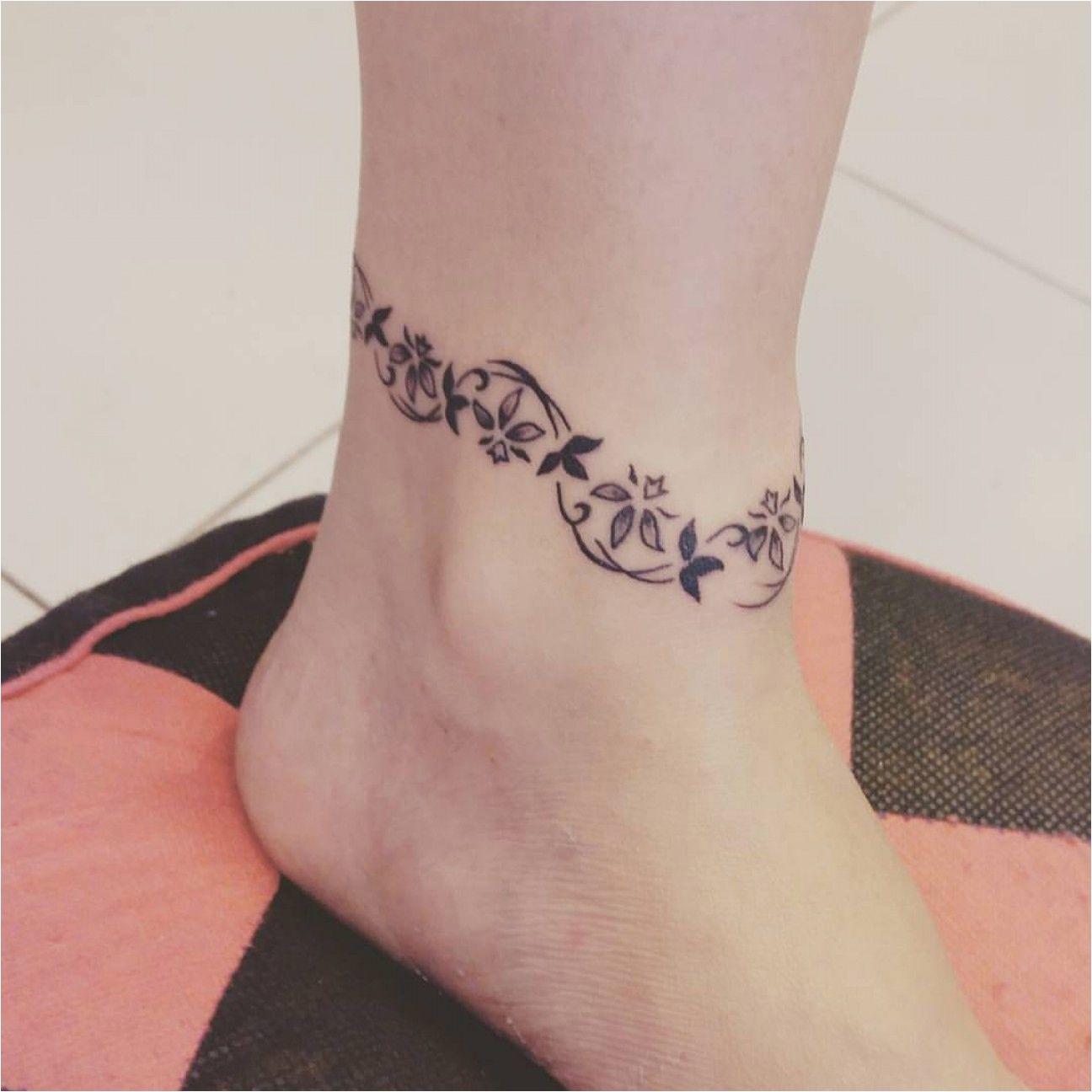 24 New Bracelet Tattoo Ideas 2019 Ankle Bracelet Tattoo Tattoo Bracelet Bracelet Tattoos With Names