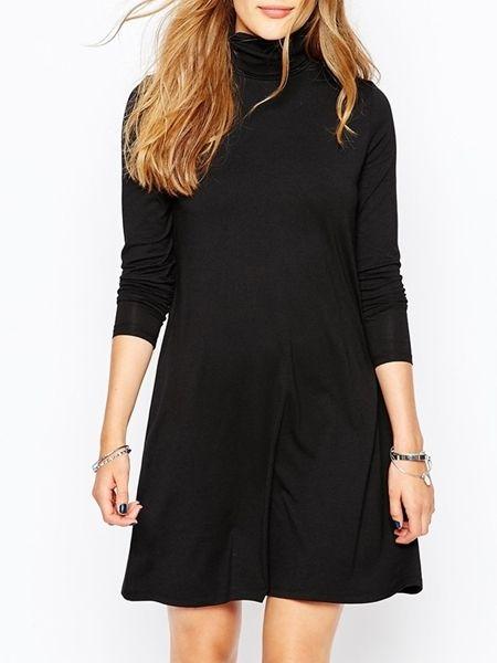 14++ Black long sleeve loose fit dress ideas in 2021