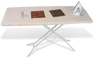 Make life easy when ironing yardage or quilt tops by setting this ... : wide ironing board for quilting - Adamdwight.com