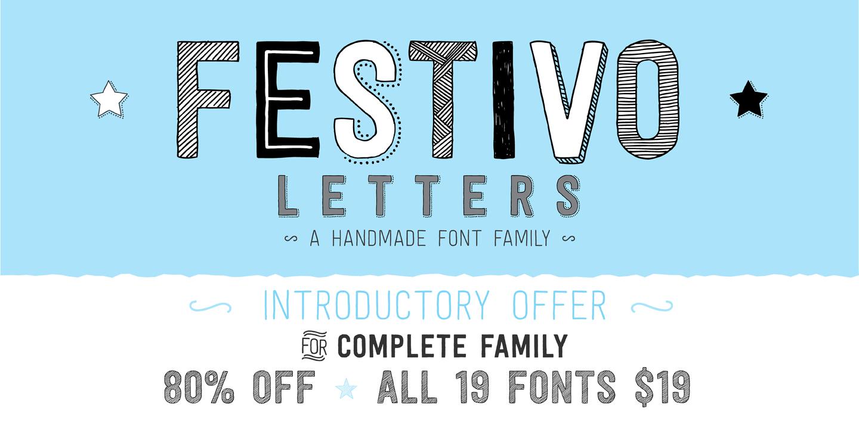 Festivo Letters  Webfont  Desktop Font  Myfonts  Type  Word