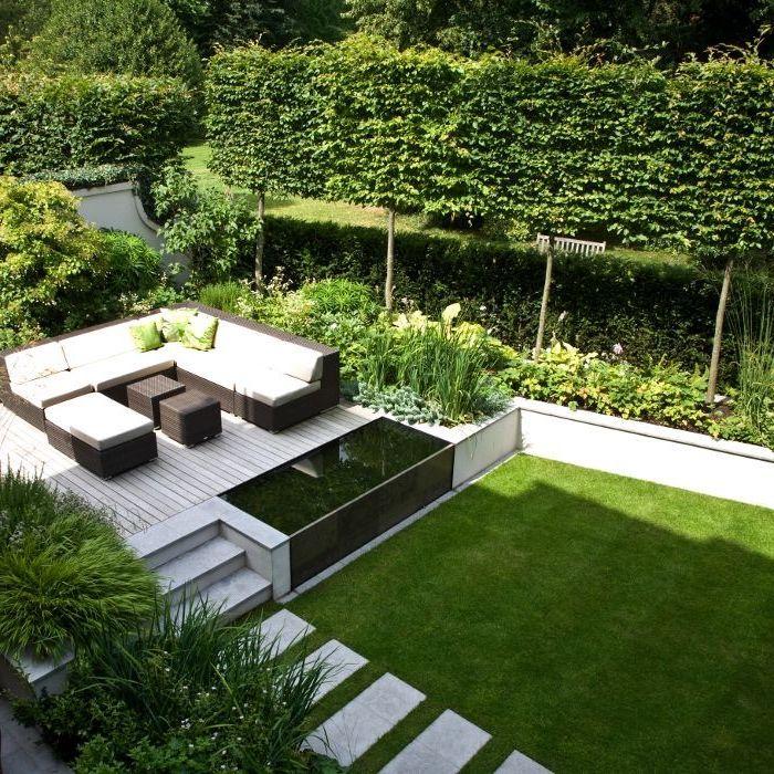 Garten Sitzecke Gestalten Ideen Für Kleine Große Gärten: 1001 Ideen Und Inspirationen, Wie Sie Ihren Garten