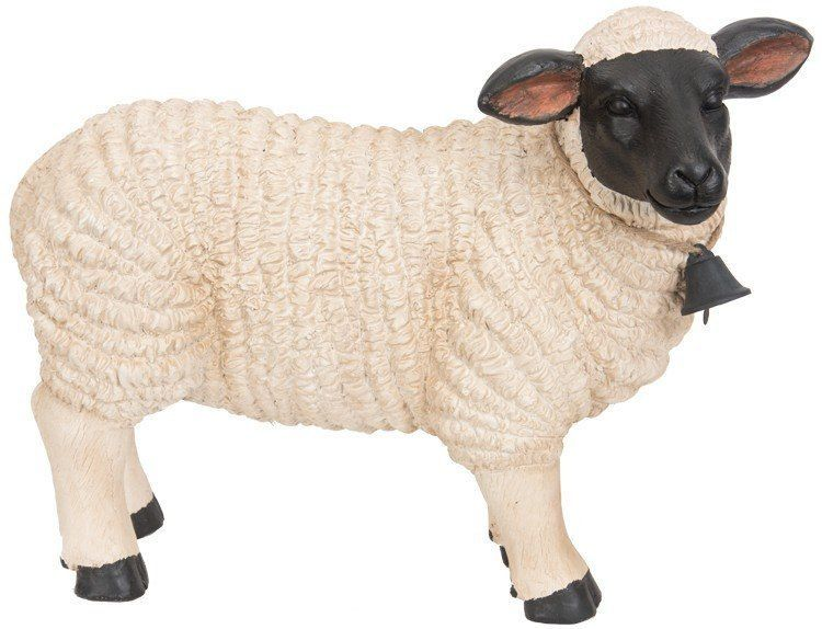 Standing Sheep with Bell