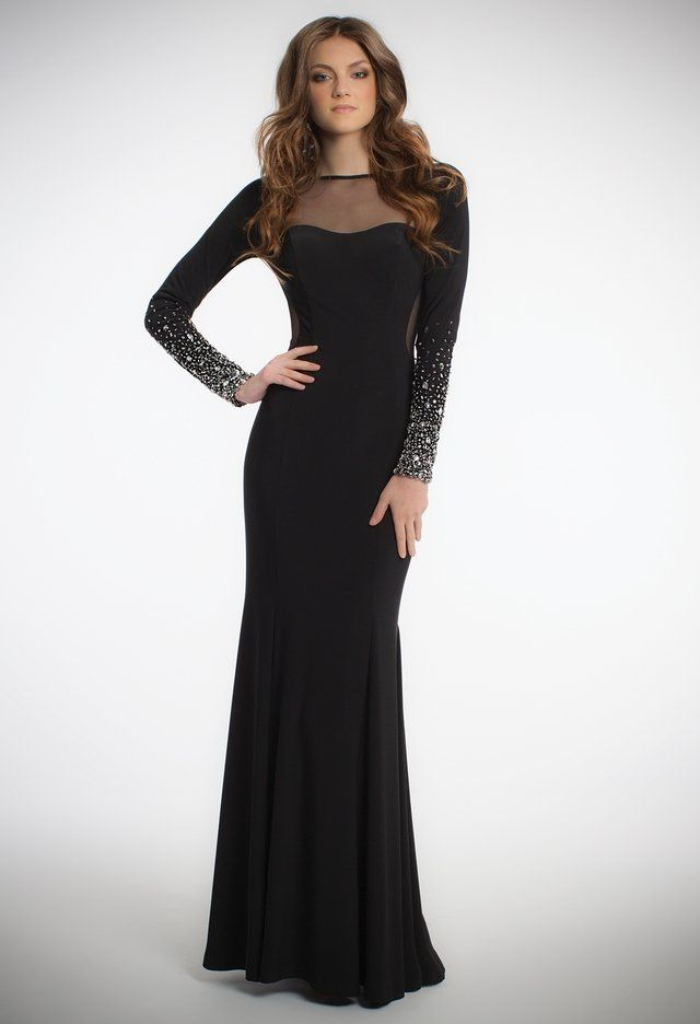 Long Sleeve Beaded Dress From Camille La Vie And Group Usa Face