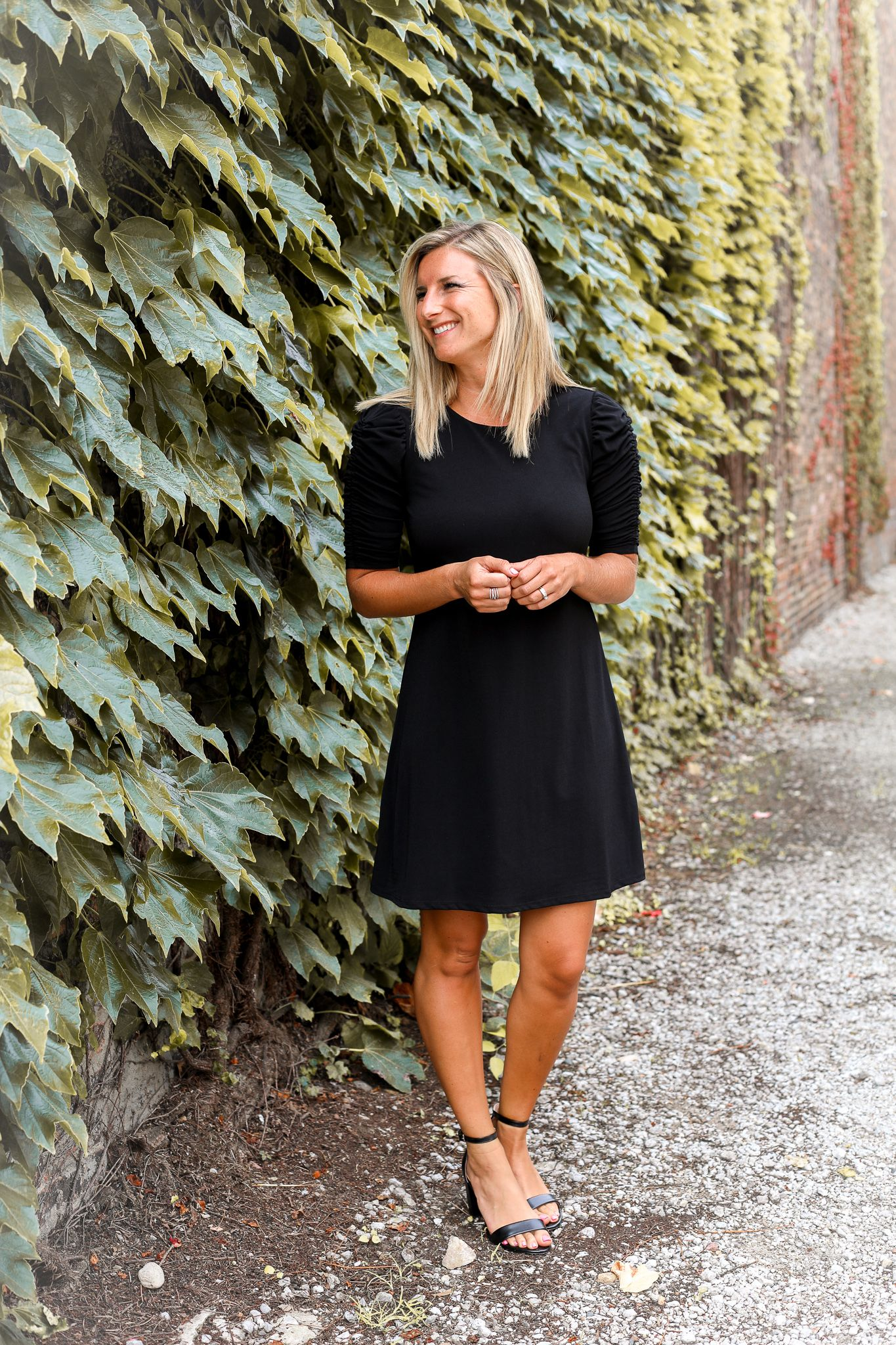 5600386bfb9 What to wear to a fall wedding. Three wedding guest dress ideas for this  fall