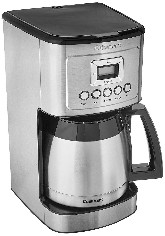 Amazon Com Cuisinart Dcc 3200 Perfectemp Programmable Coffeemaker 14 Cup Stainless Steel Black Cuisinart Coffee Maker Thermal Coffee Maker Best Coffee Maker