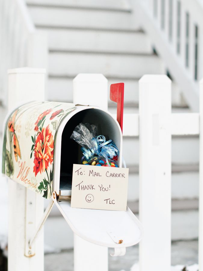 Gift for the Mail Carrier Random Acts of Kindness by TLC! The - mail carrier resume