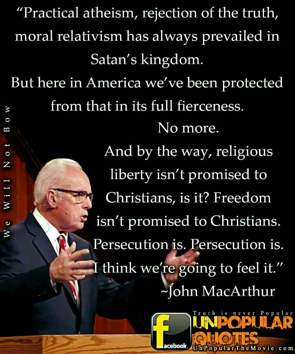 John Macarthur Quotes Christian Quotes  John Macarthur Quotes  Persecution  Suffering
