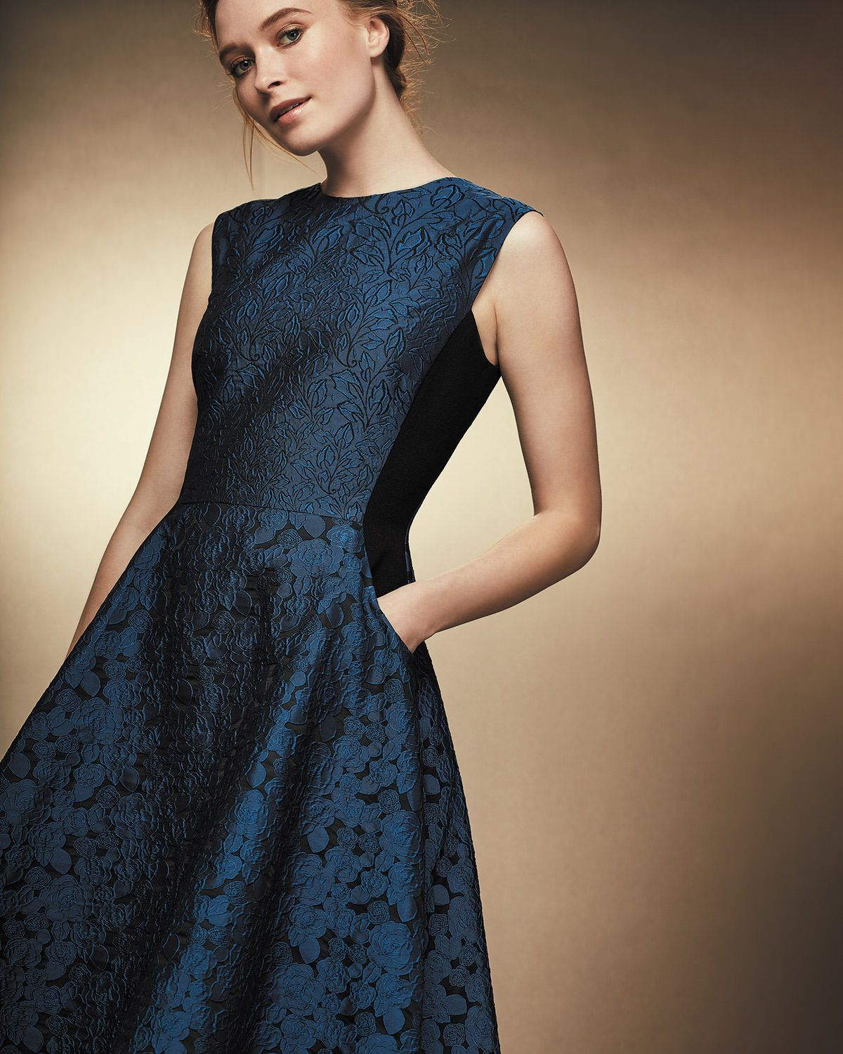 Stunning Mother Of The Bride Dresses: Phase Eight Adalyn Jacquard Dress Blue Mother Of The Bride