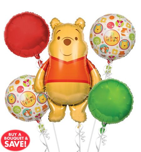 winnie the pooh party supplies winnie the pooh baby shower party rh pinterest co uk Winnie the Pooh Pictures When a Baby Pooh Bear Clip Art