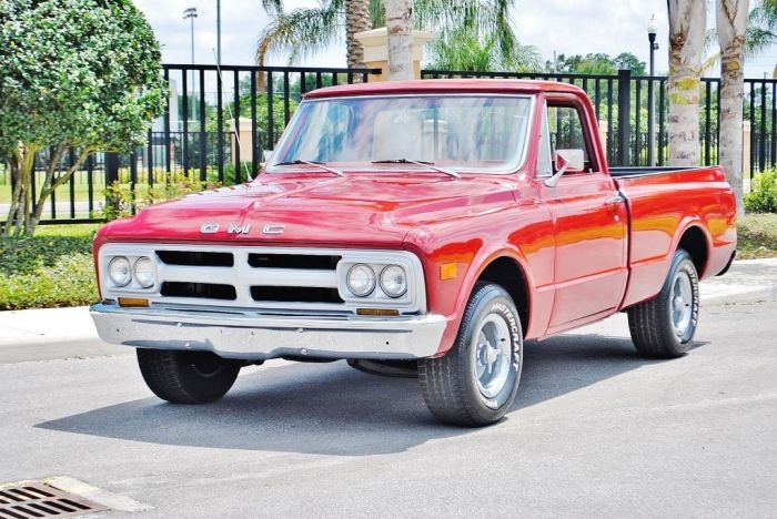 1968 Gmc Sierra Gmc Trucks Trucks Gmc