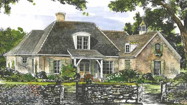 Montereau John Tee Architect Southern Living House Plans French Country House Plans Basement House Plans French Country House