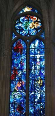 Viaggi in pillole: Le vetrate di Chagall nella cattedrale di Reims