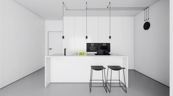 40 beautiful black white kitchen designs