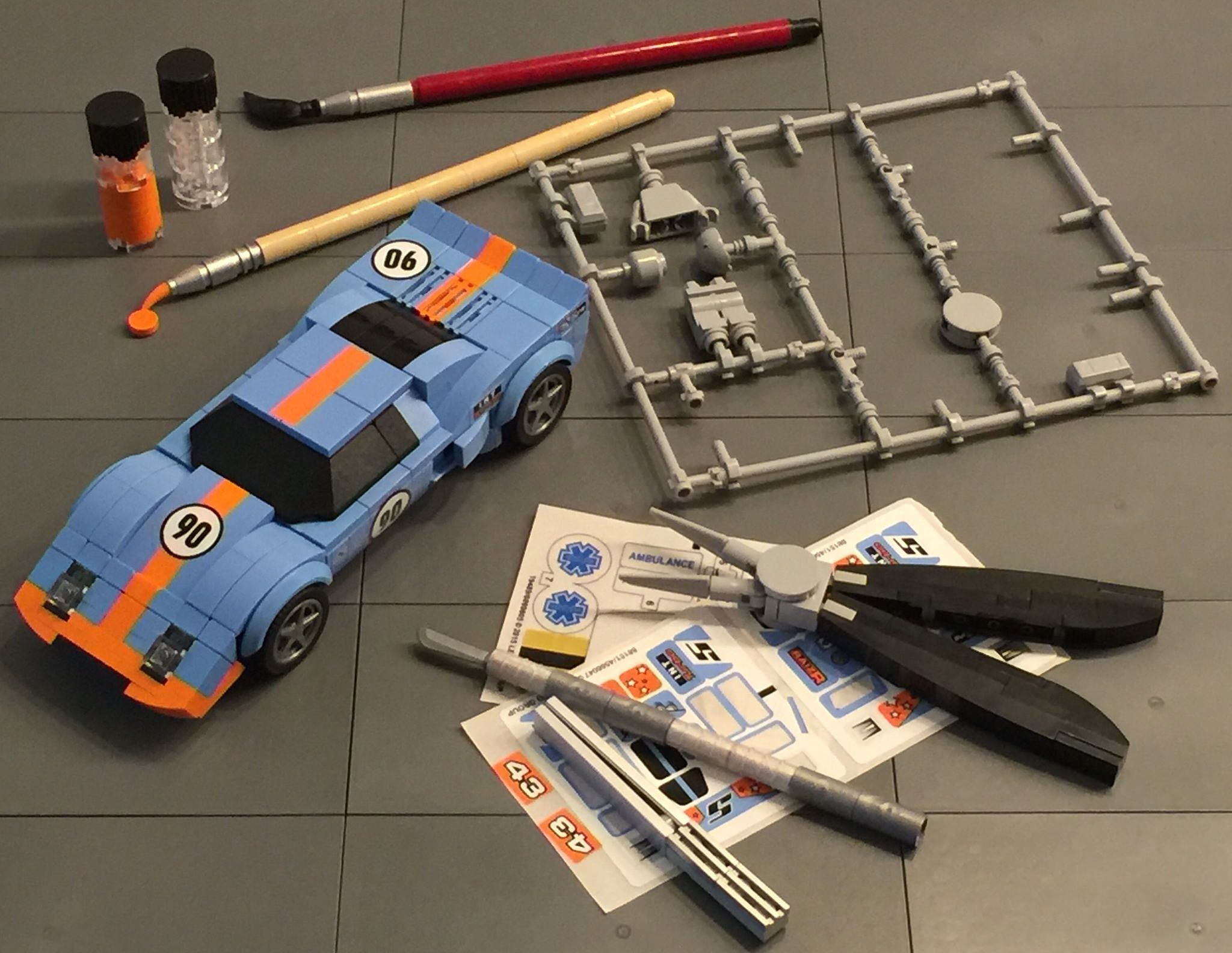 Ford Gt40 Lego Cool Lego Lego Projects