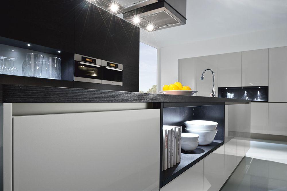 Немецкий кухонный гарнитур Systemat 4030 от Haecker в новых цветовых - häcker küchen systemat