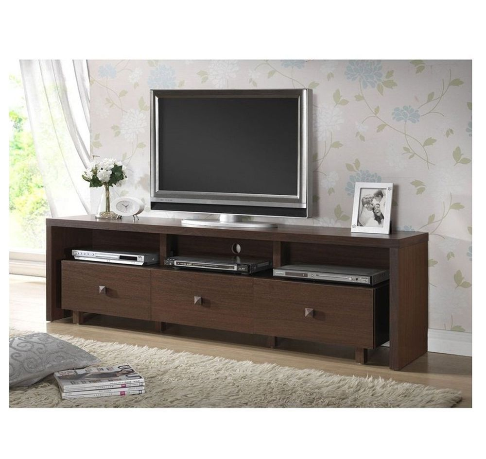 Gentil Modern TV Stand Entertainment Media Center Home Theater Console Wood  Furniture #Doesnotapply