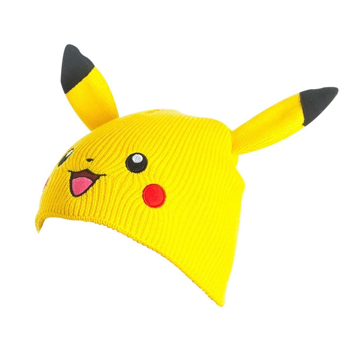 d65a1f5024a Pokémon beanie hue med Pikachu hoved