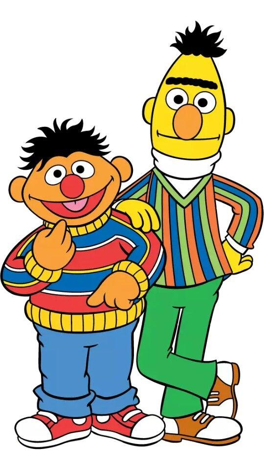 Bert Ernie Sesame Street Birthday Sesame Street Muppets Sesame Street