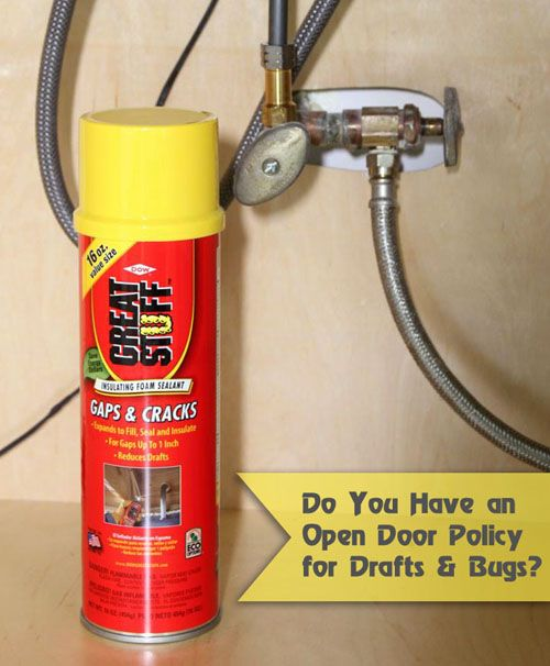 Seal Gaps around Pipes | DIY | Home fix, Pipes, Home repairs