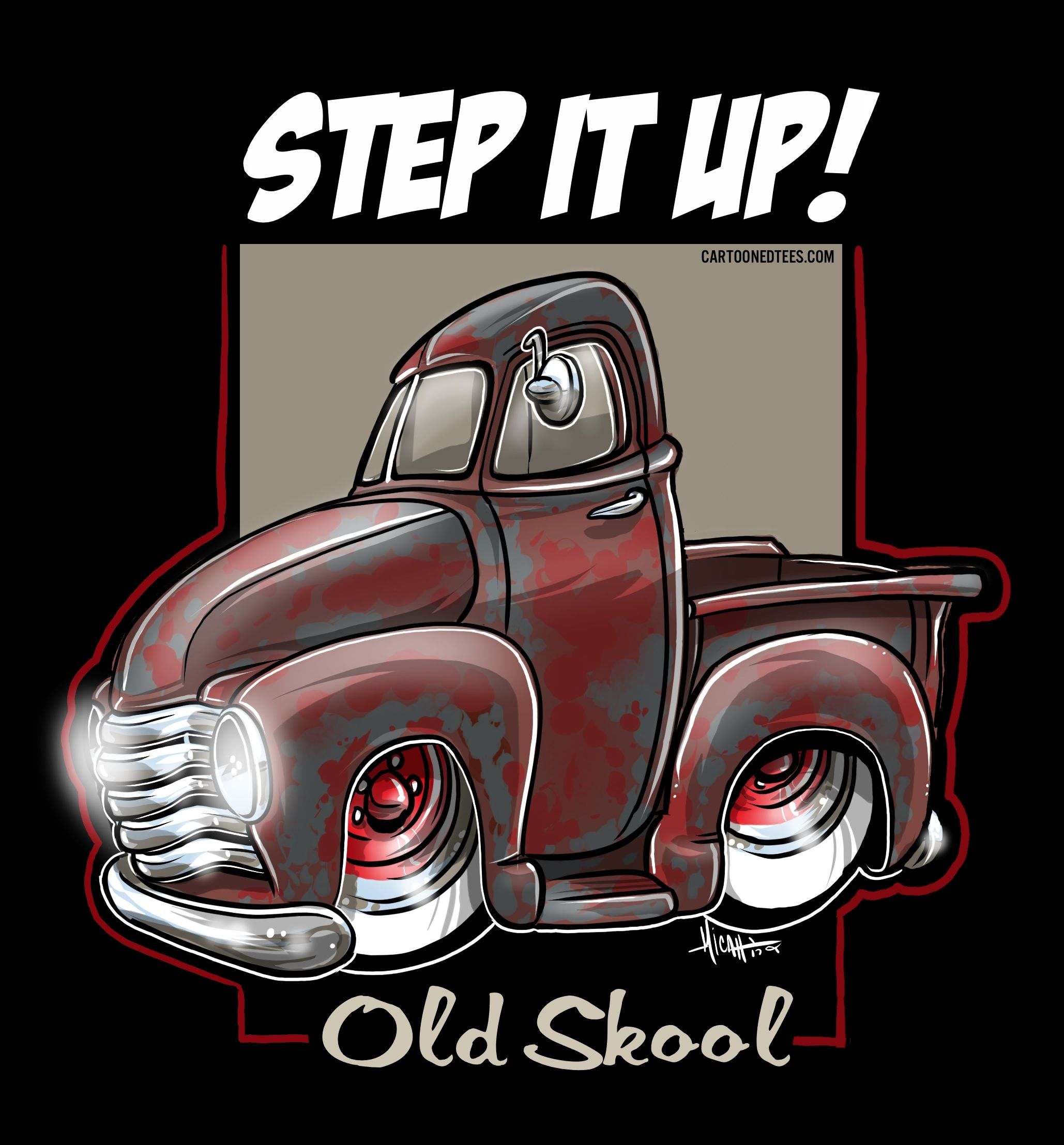 Order this shirt today at cartoonedtees.com • drawn by micahdoodles ...