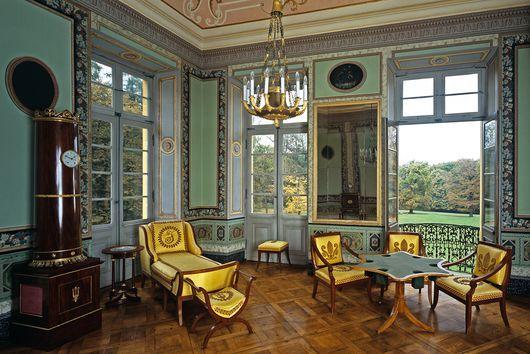 Das Nordwestliche Zimmer In Schloss Favorite Ludwigsburg Palast Interior Historische Hauser Schloss Ludwigsburg