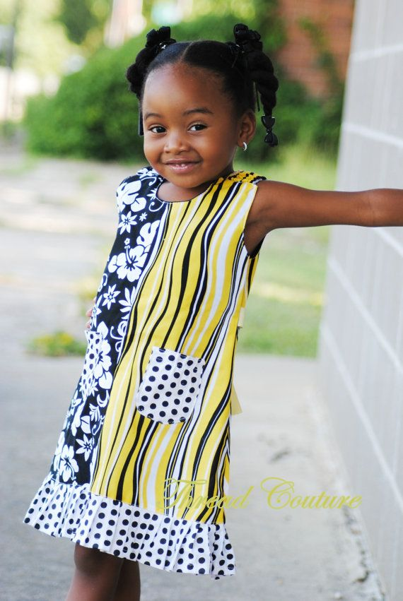 SEWING PATTERN Girls Dress, Instant Download, Easy Sundress Sewing ...