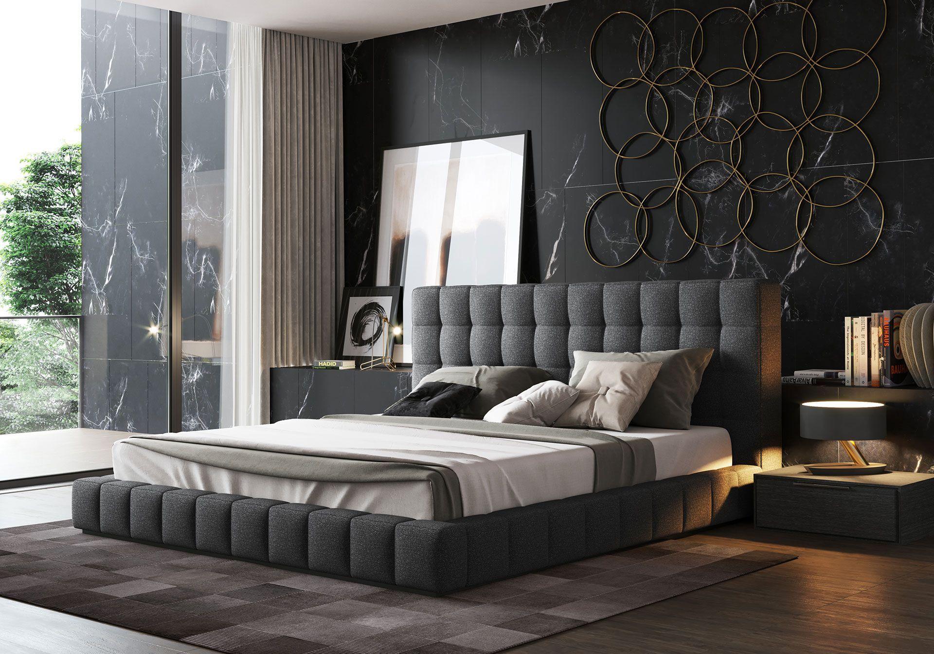 Thompson queen bed nel modern classic home stanza da