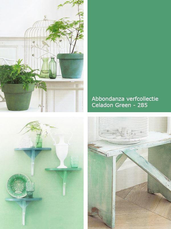 Kleur inspiratie | Groen in je interieur | Abbondanza - Botanical Green