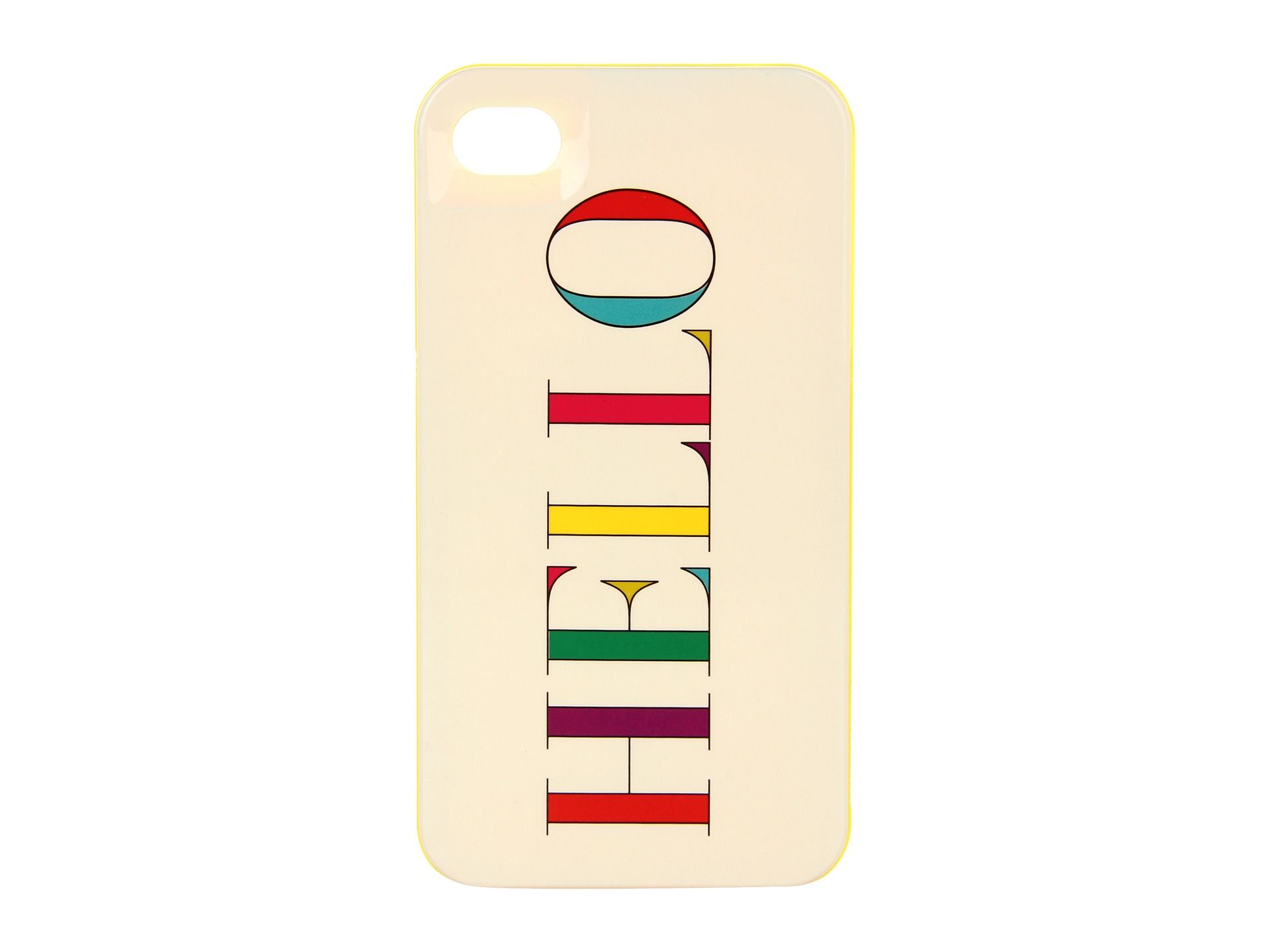 Kate spade new york hello resin case for iphone 4 multi