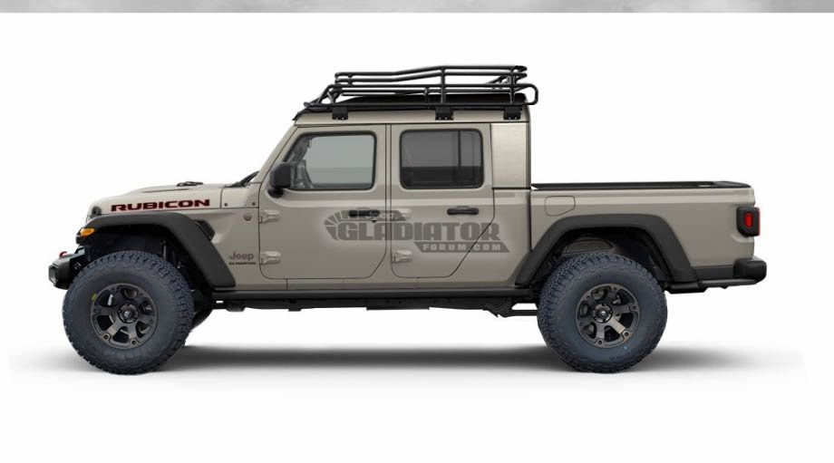 2020 Jeep Gladiator Looks Like The Perfect Adventure Truck In These Fresh Renders The Drive Jeep Gladiator Jeep Gladiator