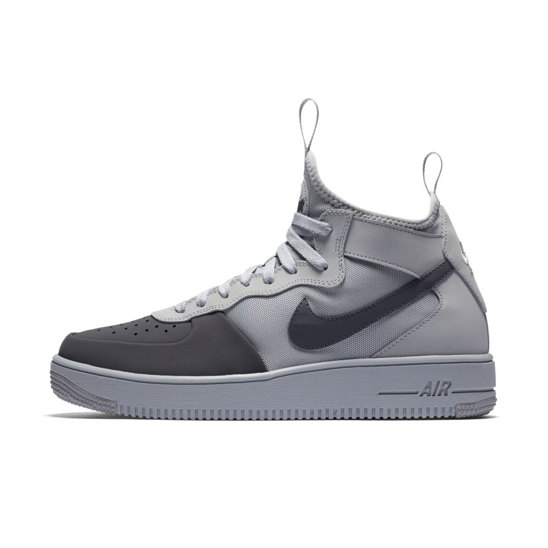 the latest be35e b8889 Nike Air Force 1 Ultraforce Mid Tech Men s Shoe Size 10.5 (Wolf Grey)