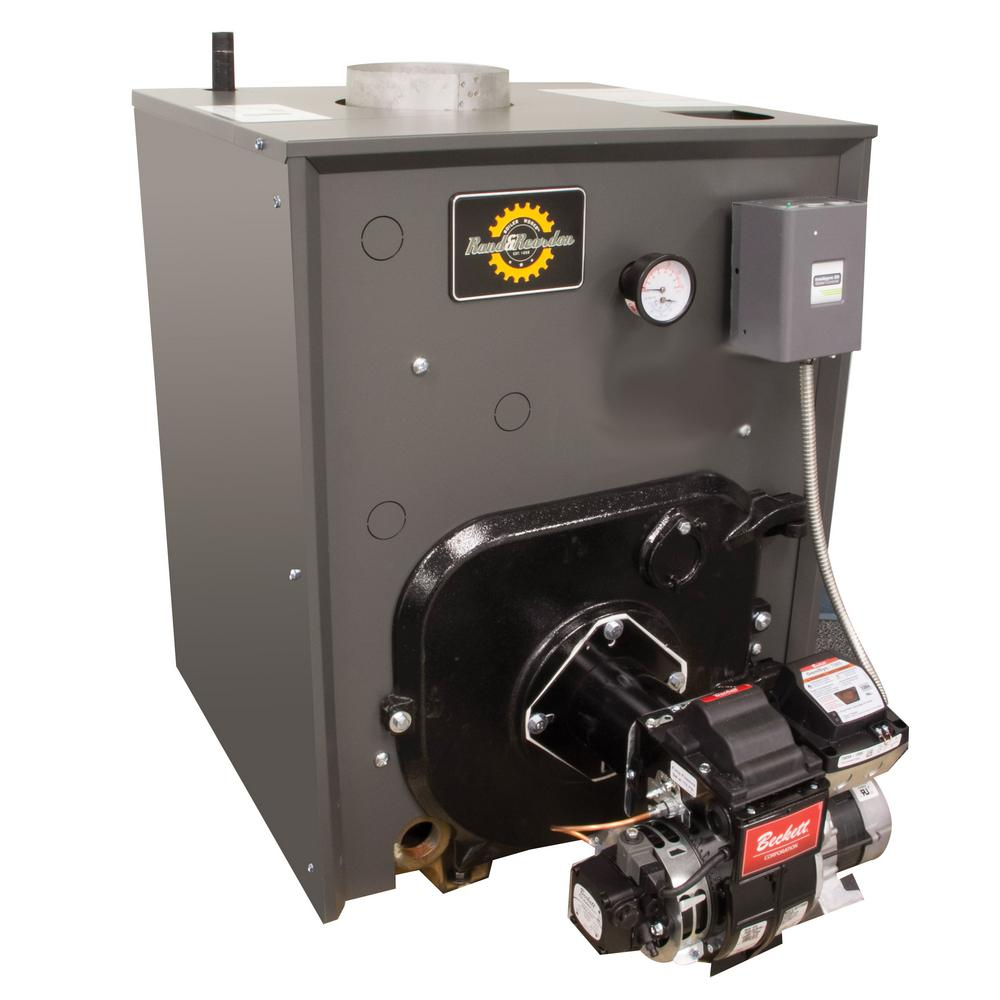 Rand And Reardon Rro Series 84 Afue Oil Water Boiler Without Coil And 131 000 156 000 Btu Output Rr0179 Steam Boiler Water Boiler Boiler Heater