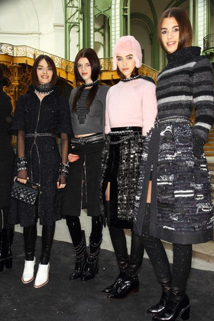 PFW FW13 Backstage: Chanel | Fashion Magazine | News. Fashion. Beauty. Music. | oystermag.com