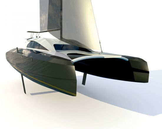 Catamaran Mcconaghy S49 L Actualite Du Catamaran Et Trimaran De Multicoques Mag Multihulls World Com Catamaran Boat Building Boat Design