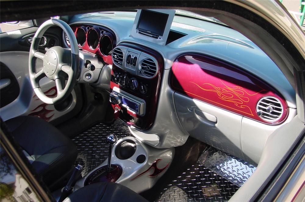 2001 Chrysler Pt Cruiser Custom W Trailer Interior 16298 With