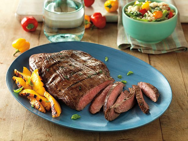 Balsamic marinated flank steak recipe flank steak flank steak balsamic marinated flank steak forumfinder Image collections