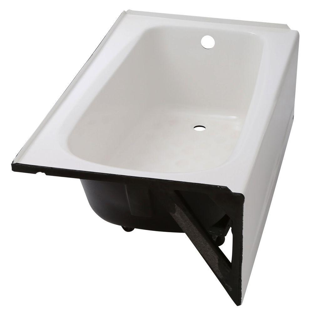 American Standard Cambridge 5 ft. Americast Right-Hand Drain Bathtub ...