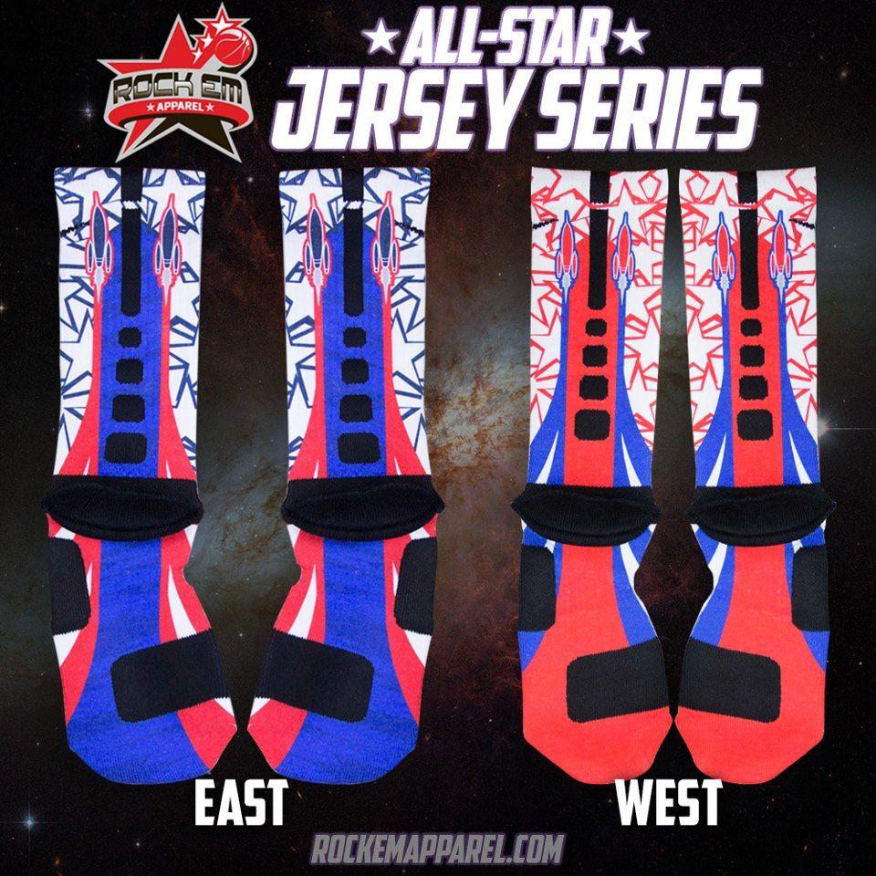 Nike Custom Elite Socks All Star 2013 Collection By Rock Em