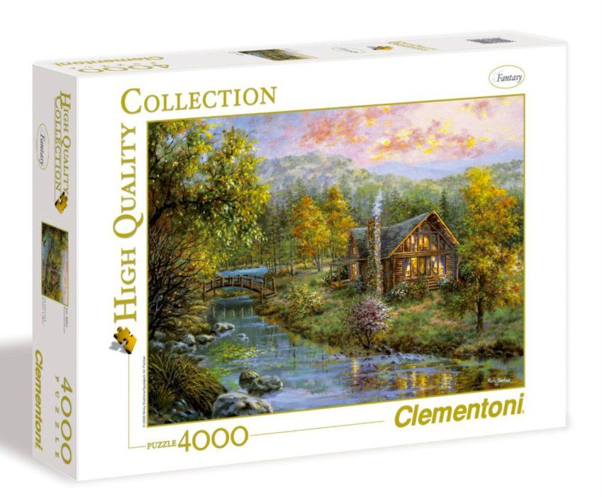 Peaceful Grove 4000 Piece Clementoni Jigsaw Puzzle Puzzle Jigsaw Puzzles Brain Teasers