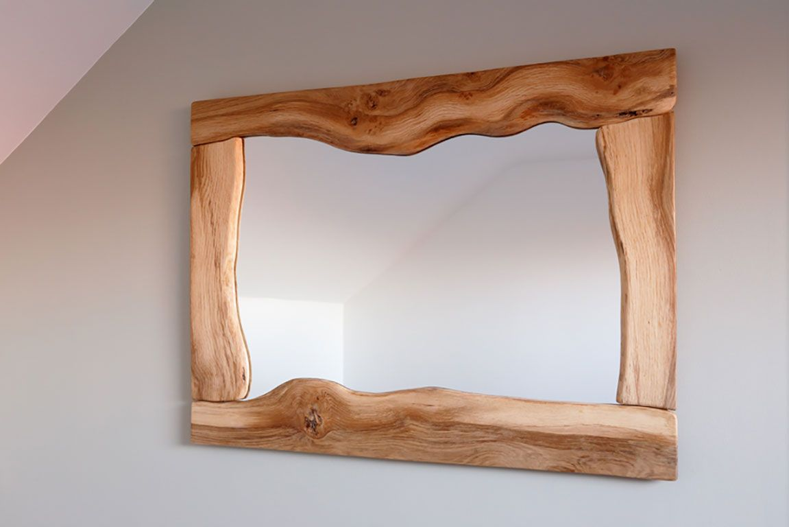 Wavy mirror   KJS Woodwork   Diy decor for the home   Pinterest ...