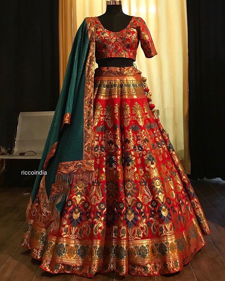 Ricco Riccoindia Instagram Photos And Videos Indian Bride Outfits Indian Bridal Dress Indian Bridal Outfits