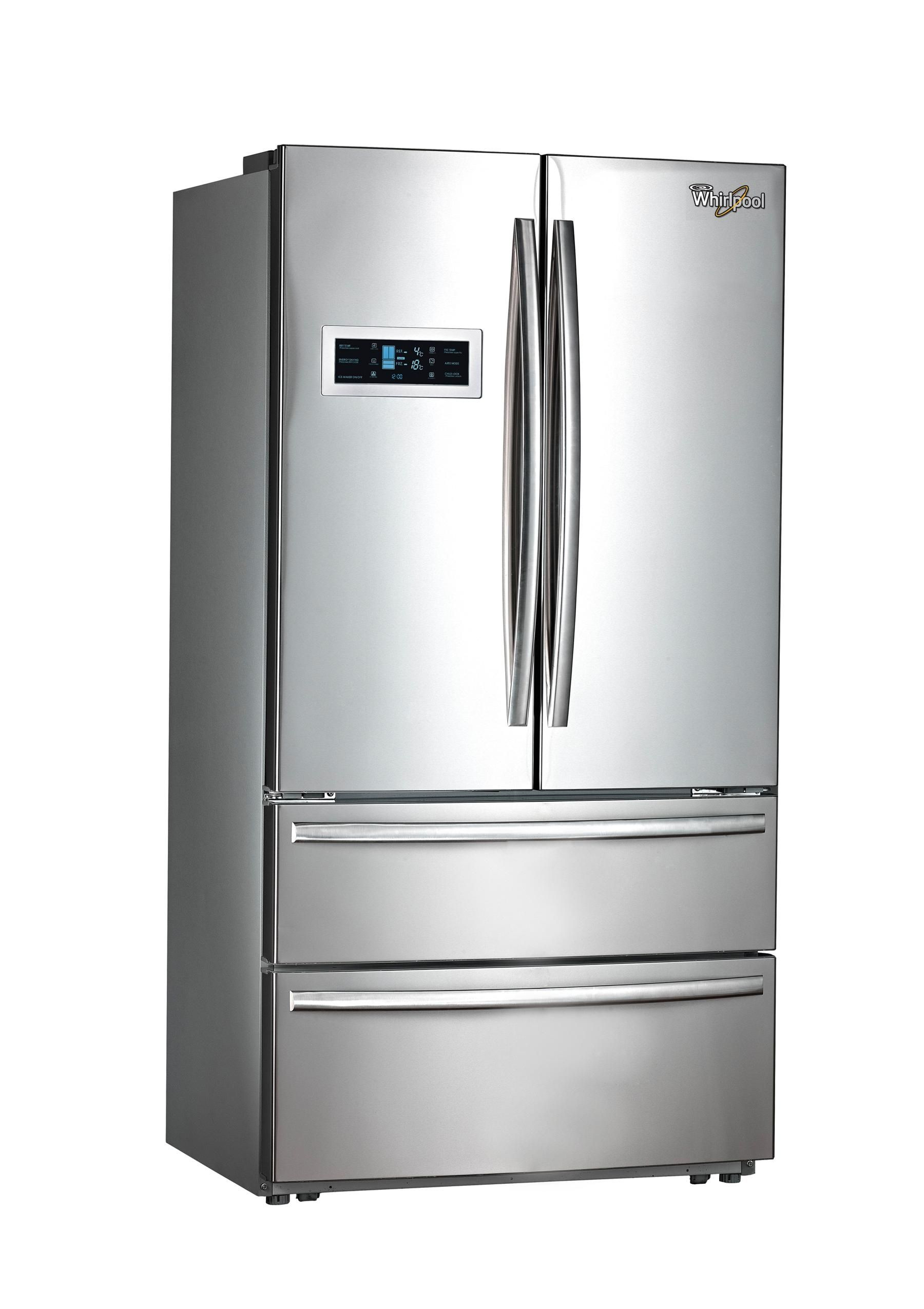 Double Door Refrigerators Whirlpool French doors, French
