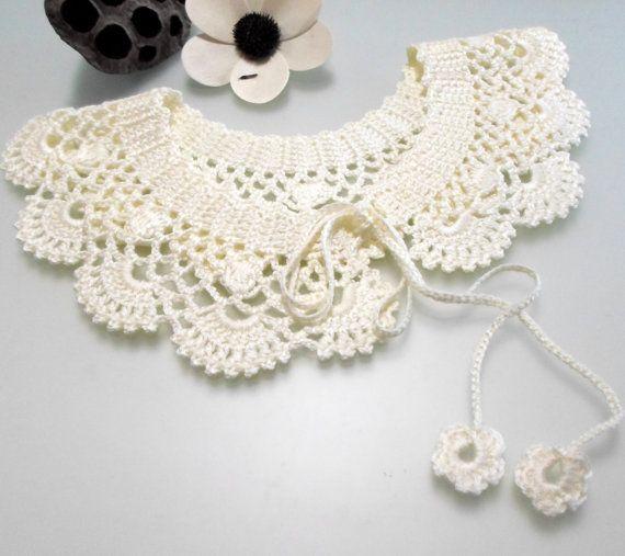 Crochet pattern, gift woman, crochet necklace, patterns, pdf pattern ...