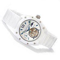 Android Virtuoso Limited Edition Mechanical Tourbillon GMT Bracelet Watch ShopNBC.com