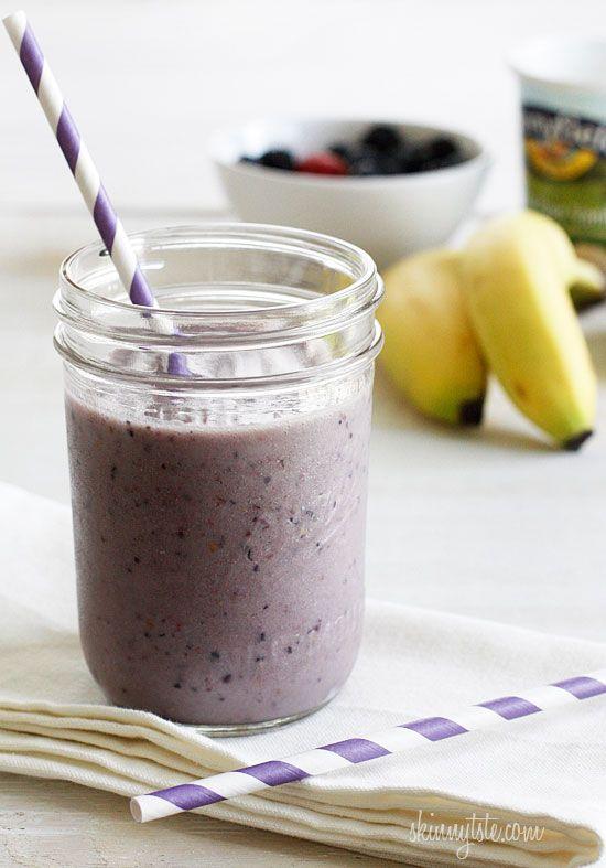 berry banana shake